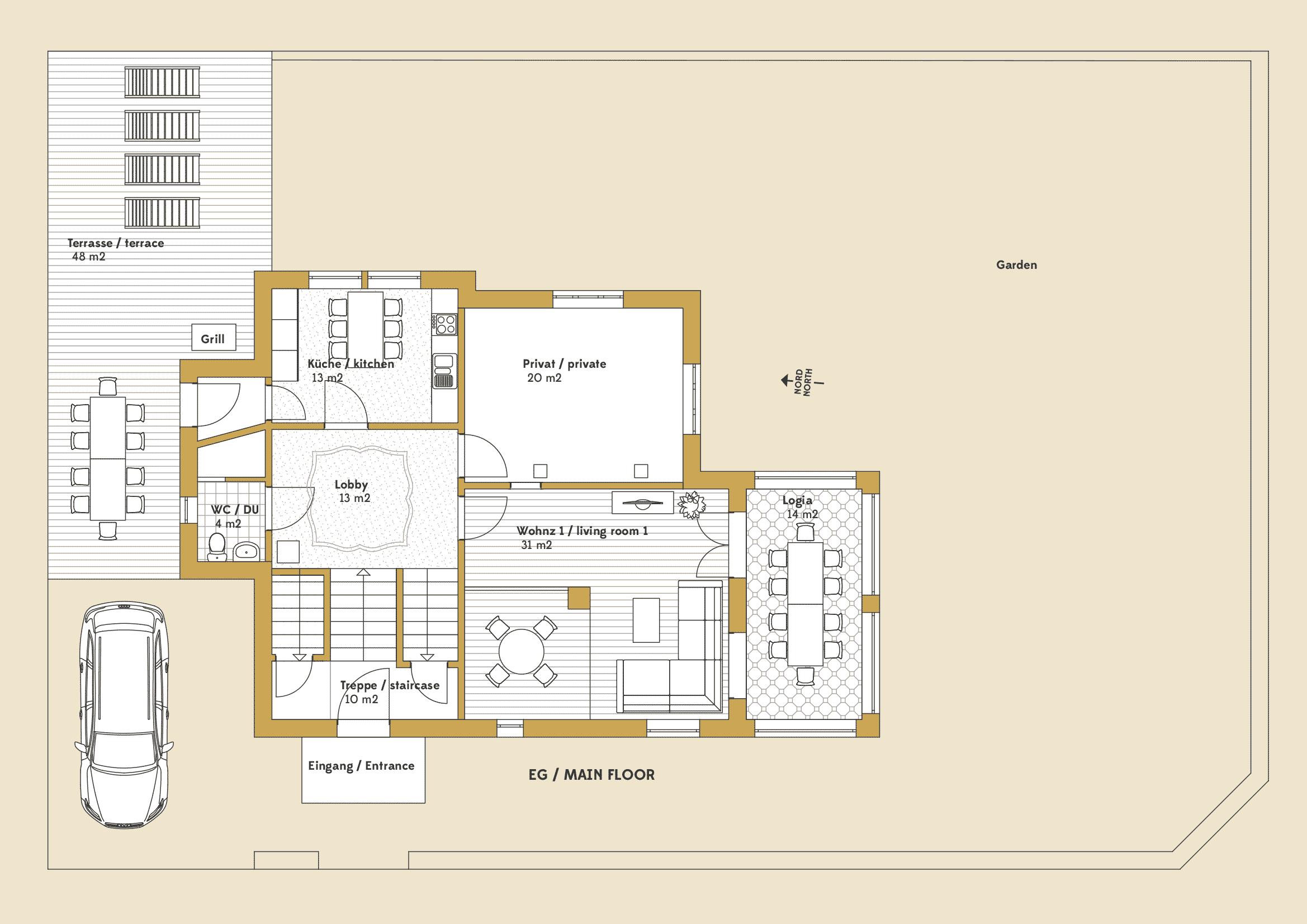 Erdgeschoss / main floor